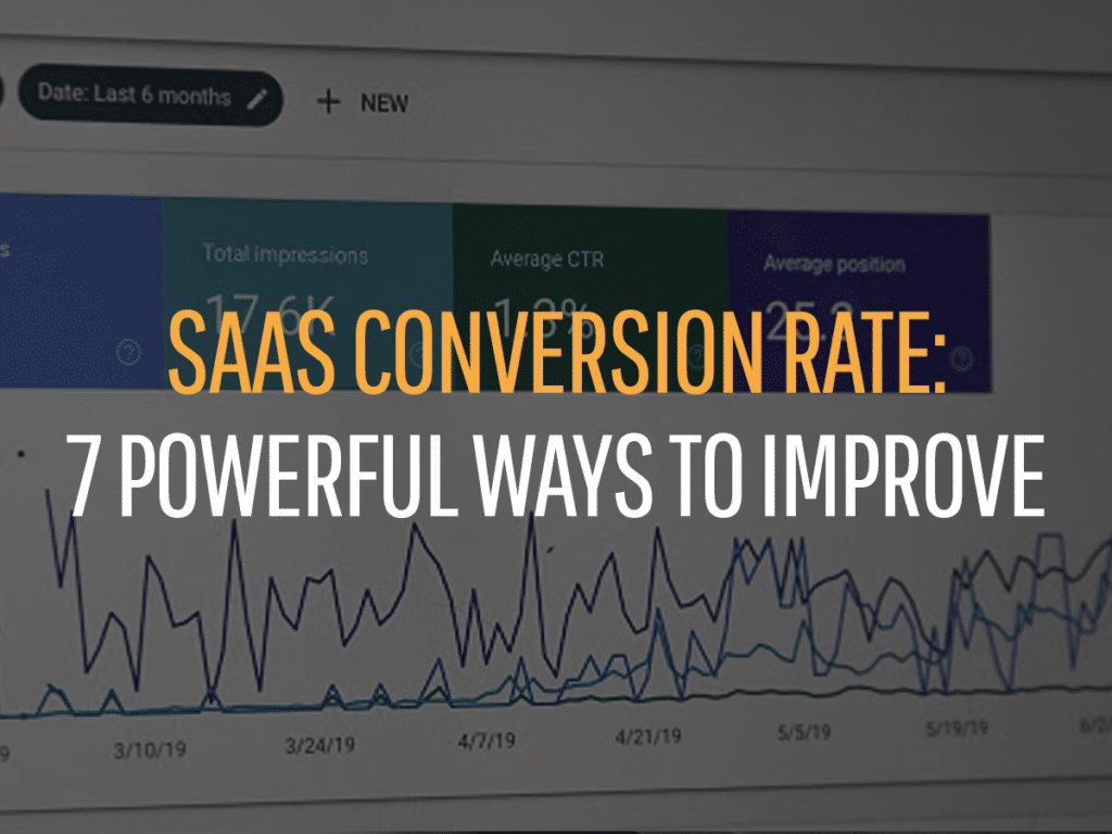 saas conversion rate